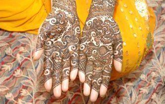 Main henné Inde