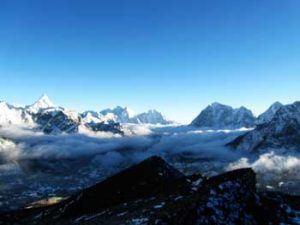 Mont Everest sur le trek népalais