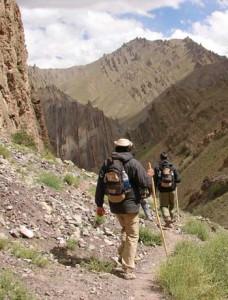 Le trek accompagné par un guide