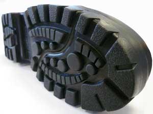 Semelle de chaussures de randonnée