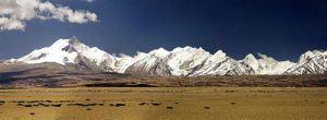 Panorama au Tibet