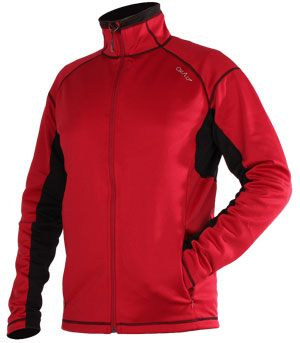 Sweat ultra-isolant WARMIT rouge et noir