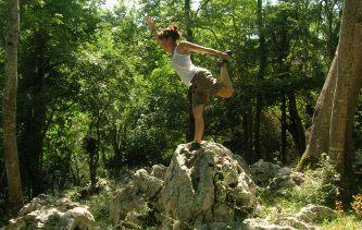 Randonnée et yoga