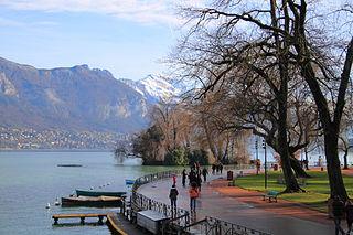 marche nordique autour du Lac d'Annecy