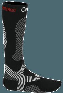 chaussettes compression 3D défatigantes randonnée voyages Noires_s'équiper pour un trek au Kilimandjaro