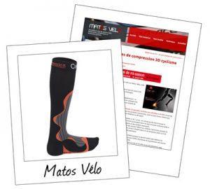 Chaussettes de compression 3D Cyclisme CimAlp