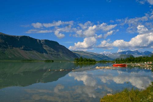 Randonnée en Laponie