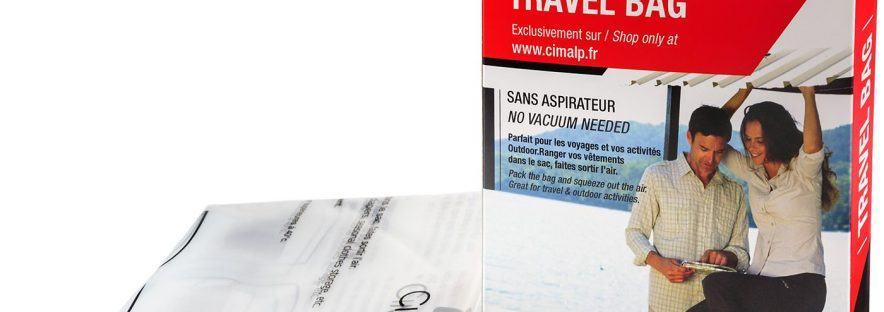 Utiliser des sacs vides d'air pour vos prochains voyages!