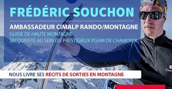 Frédéric Souchon nous livre ses récits de sorties en Montagne