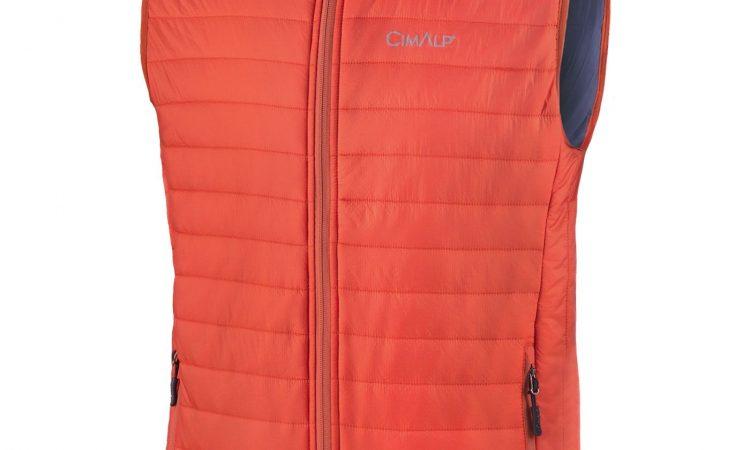 vêtement de seconde couche : gilet en duvet synthétique
