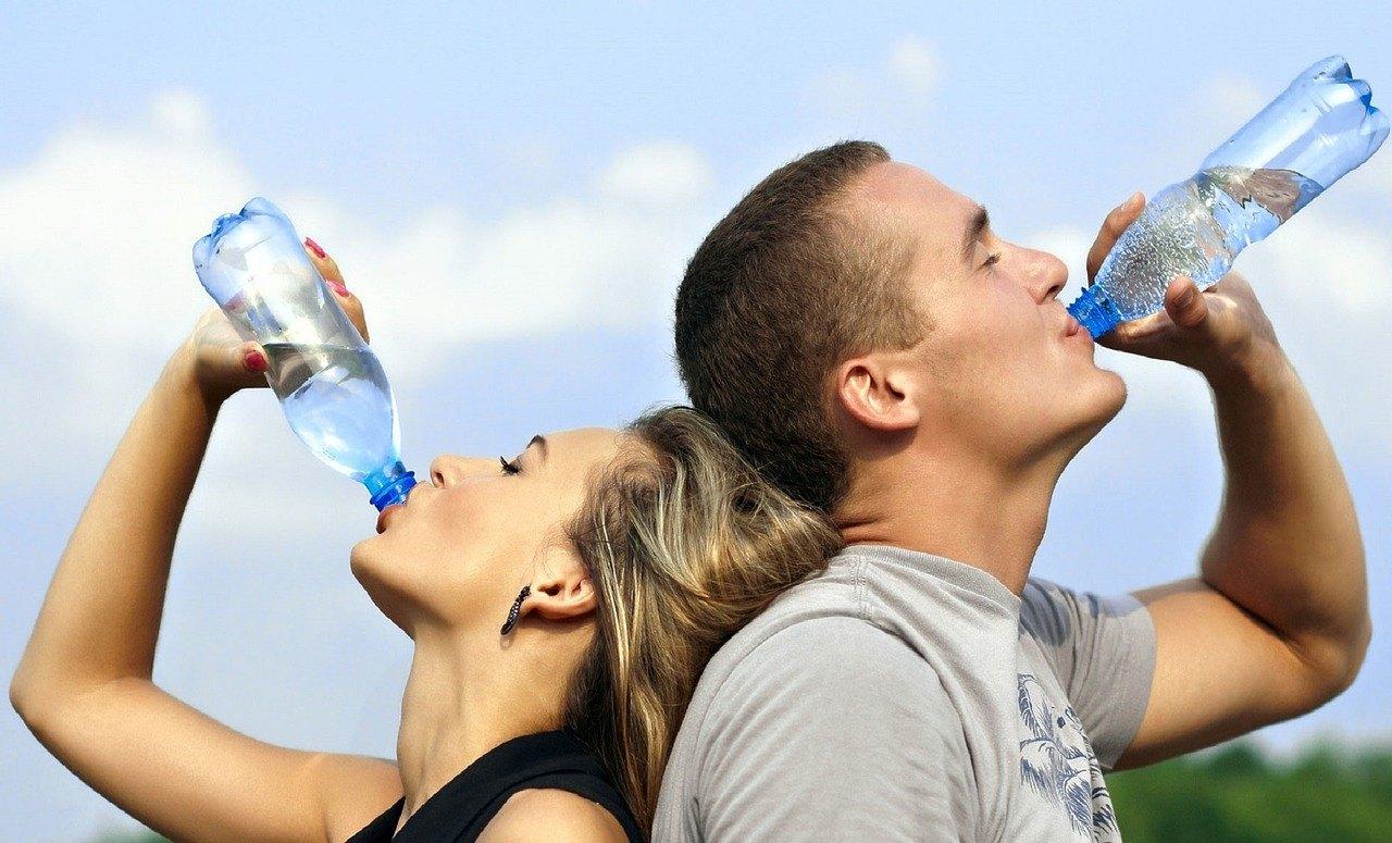 approvisionnement en eau en randonnée