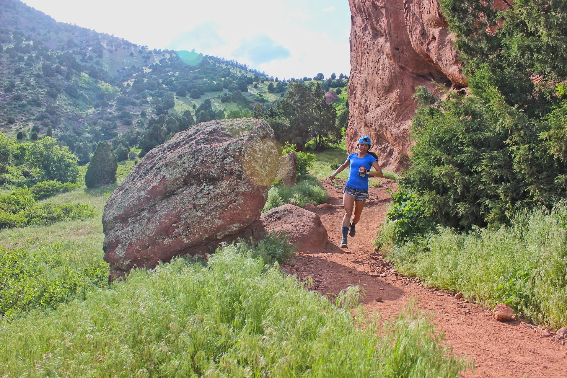 entraînement trail montée descente