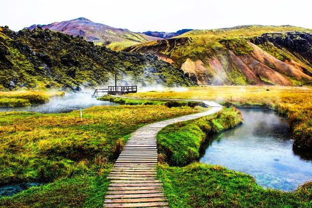 voyage en islande : treks et randonnées