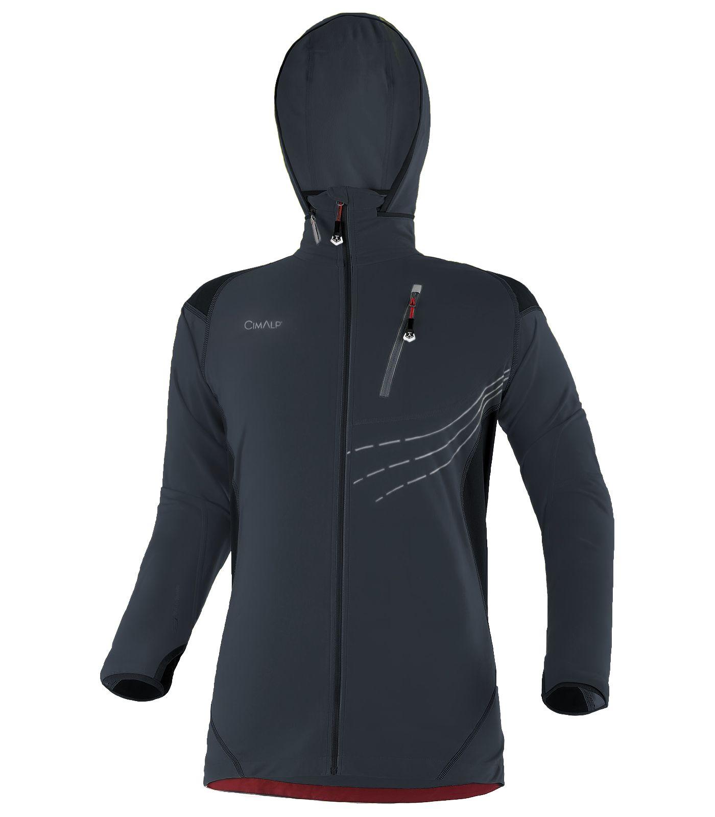 Veste de trail homme totalement stretch, chaude et isolante acc718276515