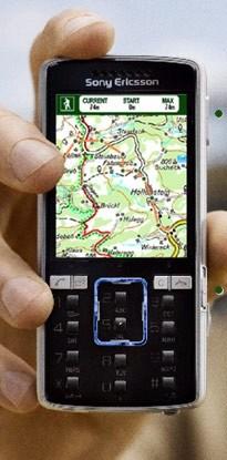 téléphone portable en randonnée