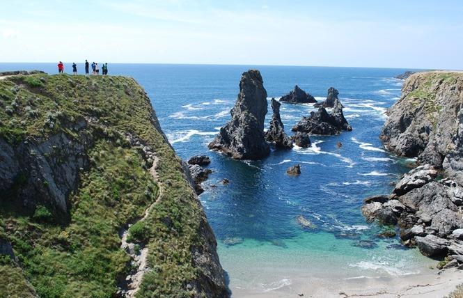 randonnée en bretagne : belle ile en mer