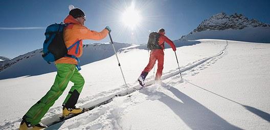 équipement pour le ski de randonnée