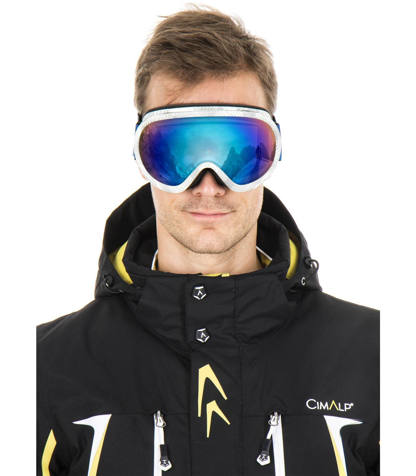 masque de ski double écran