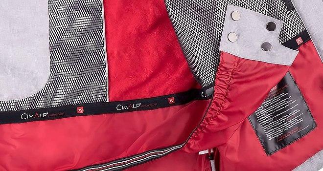 poches intérieures veste de ski