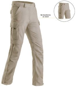 pantalon transformable