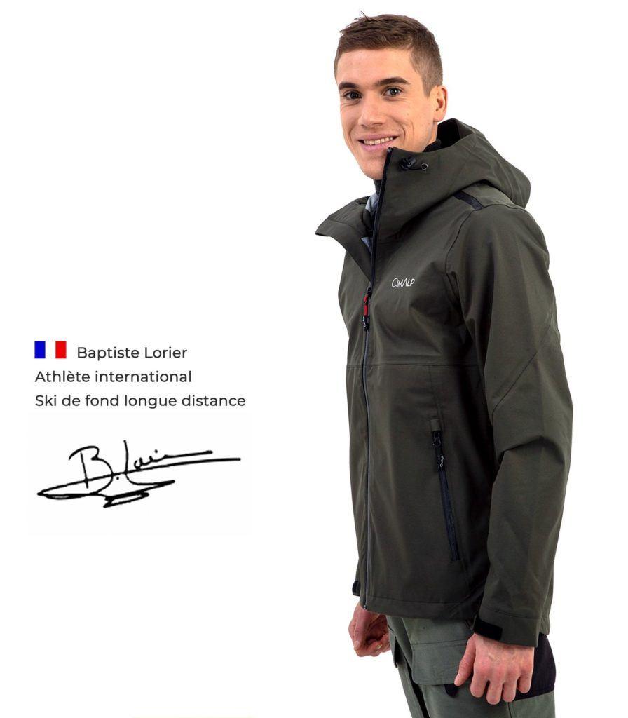 veste imperméable de randonnée