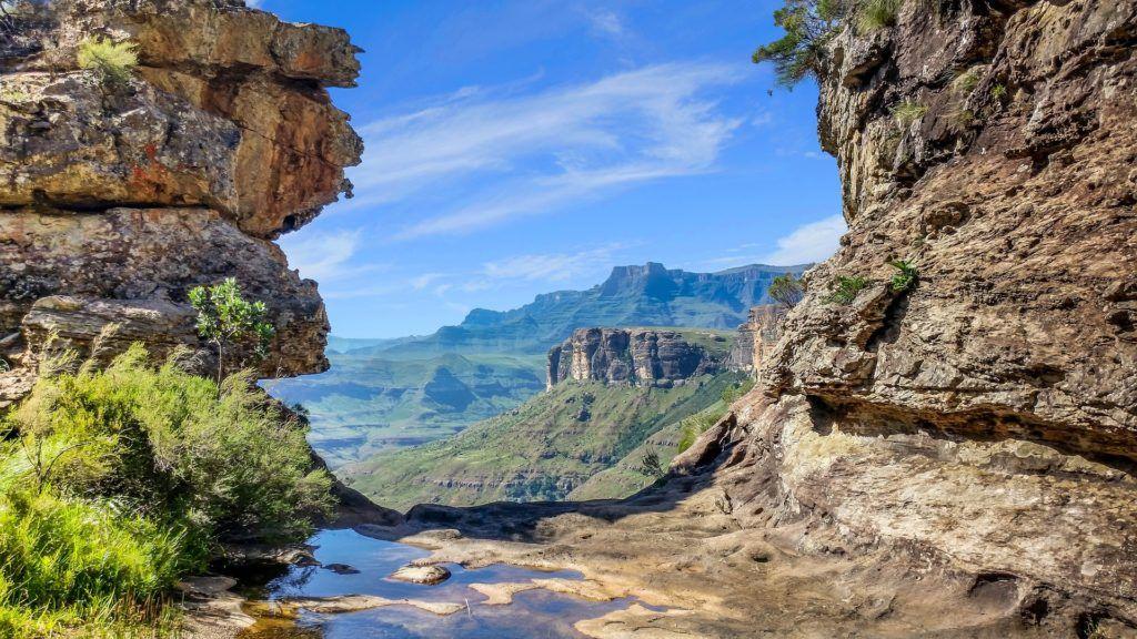 montagnes du drakensberg