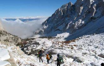 Sac de randonnée en montagne