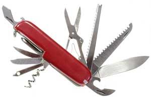 Couteau multifonction accessoire de randonnée indispensable