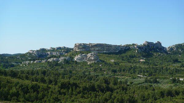 Le site des Baux de Provence au Gran Mejan