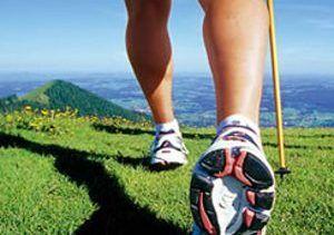 soins des pieds randonnéee