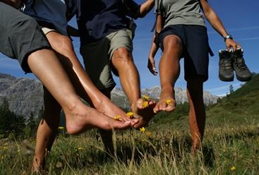 ampoules aux pieds en randonnée
