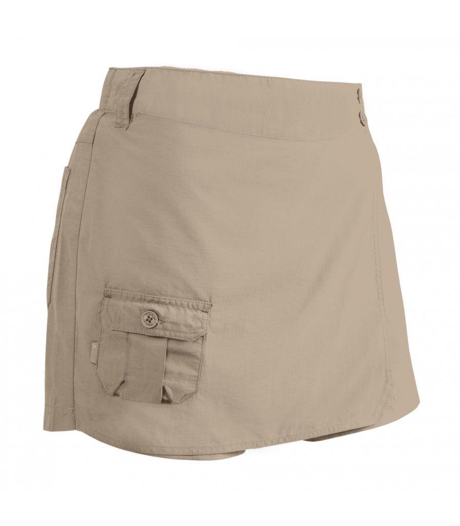 jupe short de randonnée anti-moustique