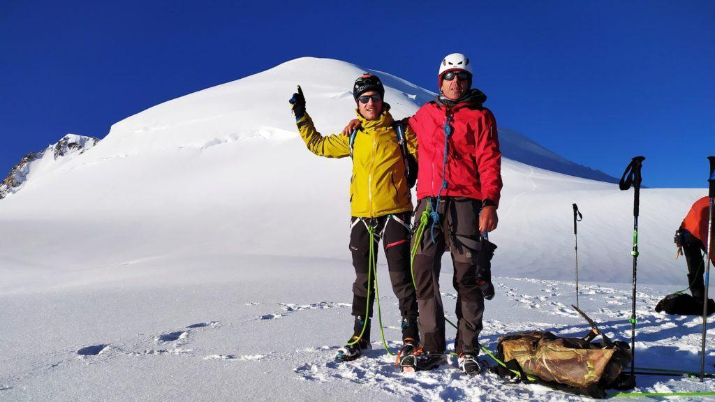 un défi au mont blanc