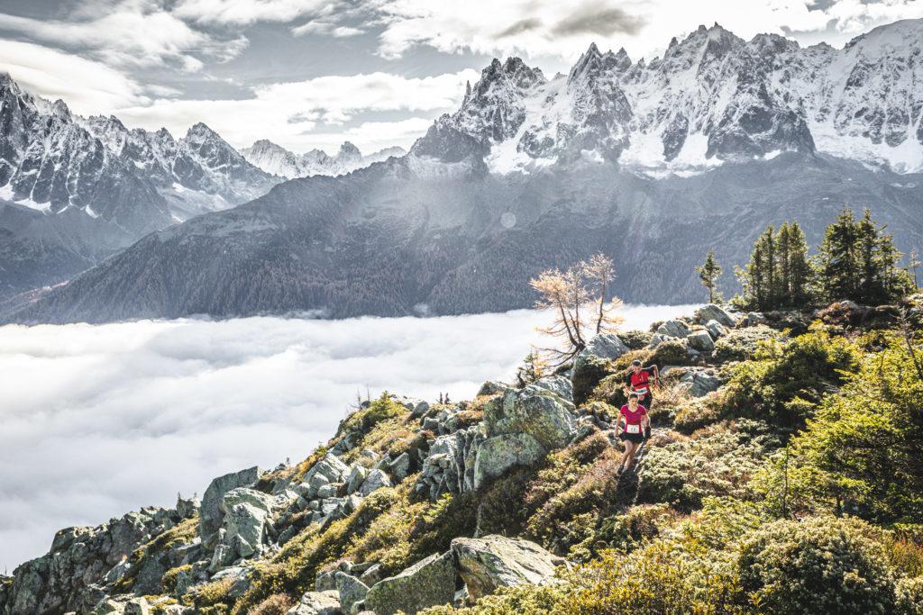L'UTMB se déroule dans les Alpes françaises